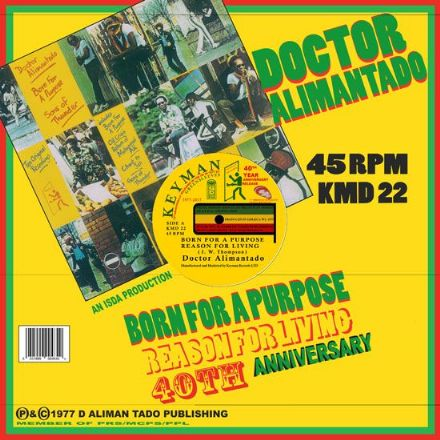Doctor Alimantado - Born For A Purpose / Reason For Living / Still Alive (Keyman) 12""